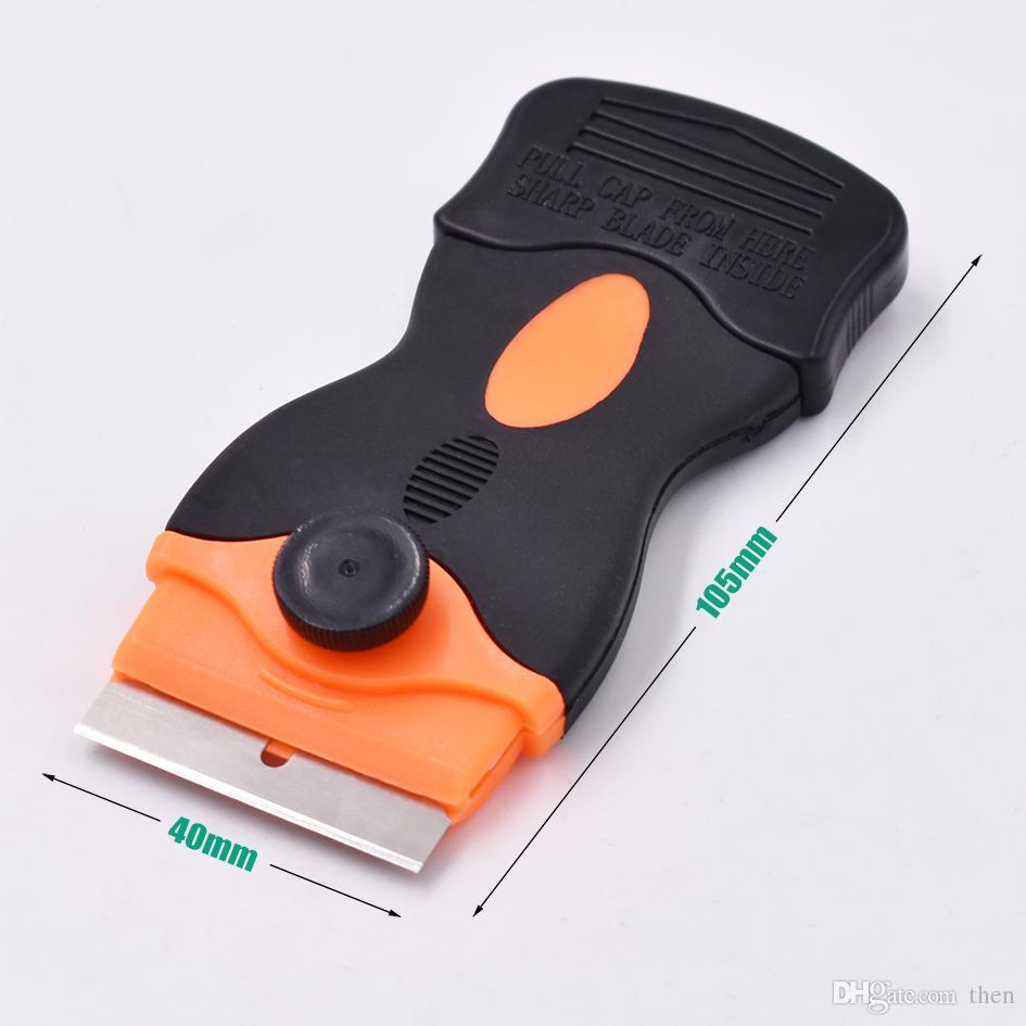 Multifunción LOCA UV Glue Clean Tool Remover Scraper para pantalla táctil de cristal LCD separada con cuchillas 100 unids / lote