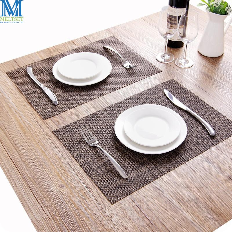 2018 Wholesale Kitchen Table Mats Waterproof Insulation