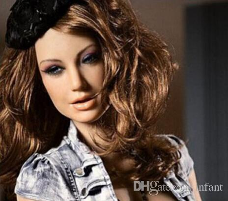 Factory directly sale half solid sex shop anal sex doll sexo big breasted lifelike silicone sex dolls