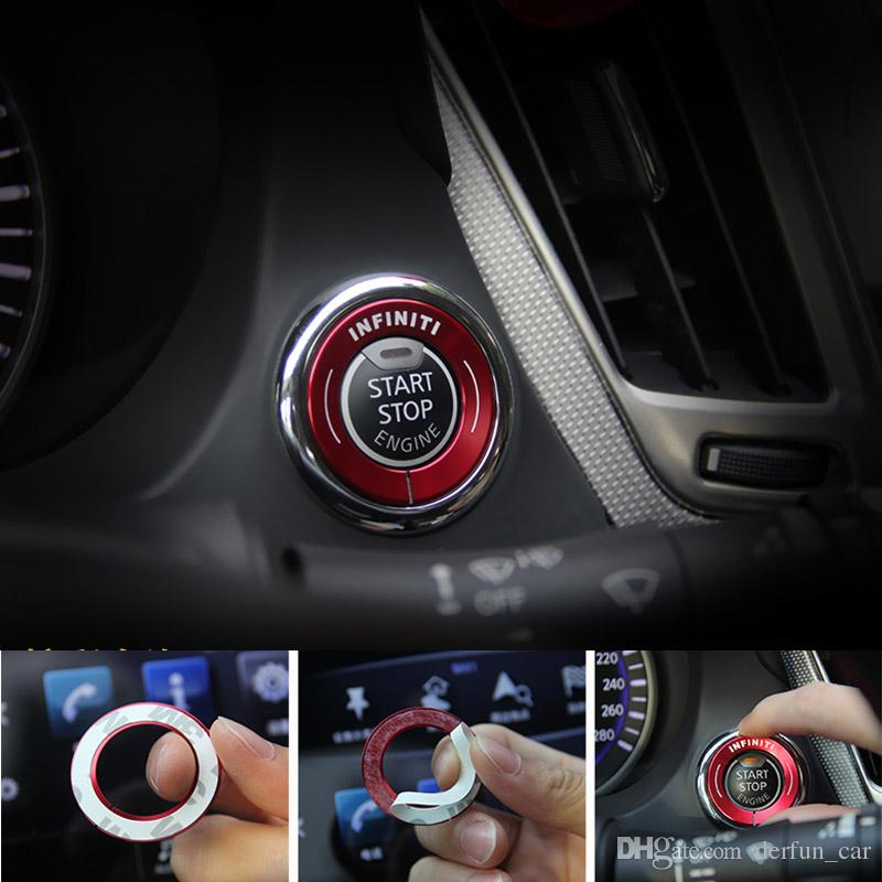 Stainless Steel Ignition Key Cover Stickers Case For