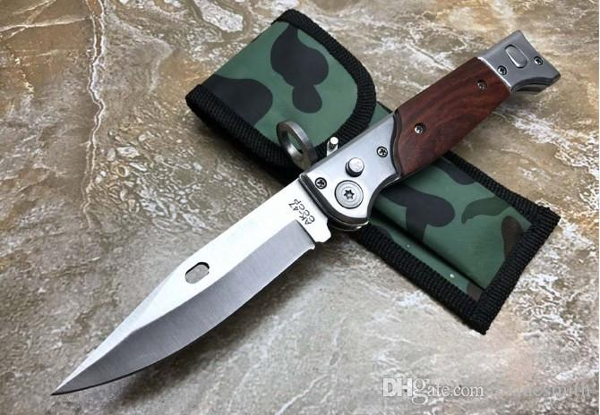 AK - 47 Folding Knife,Outdoor Self-defense Survive Knives Camping Tool Xmas Gift For Man