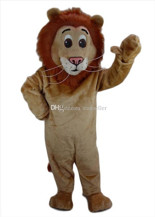 Variety of lion mascot costumes props costumes Halloween