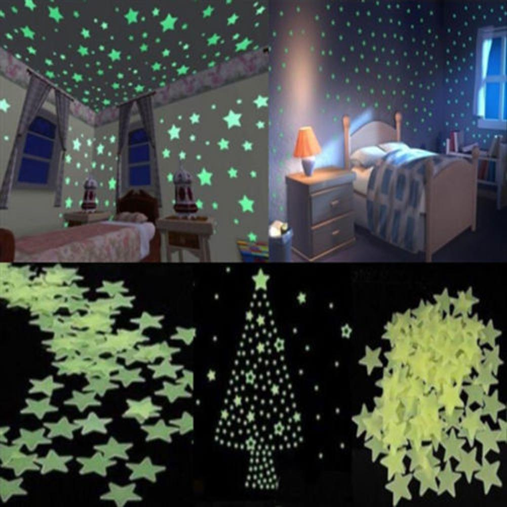 glow in the dark wall stickler light green luminous star wall glow in the dark wall stickler light green luminous star wall stickers for kids room wall graphics wall graphics stickers from chairdesk 4 09 dhgate com