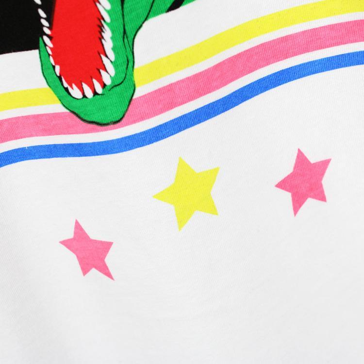 2017 new high-end men's brand t-shirt fashion Cute and dinosaur printing atmosphere t shirt short-sleeved t shirt men