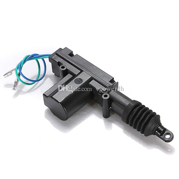 Fio resistente universal plástico 12V M00090 do motor do atuador da fechadura da porta do poder do carro 2
