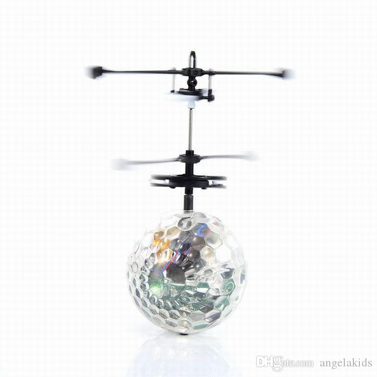 Flying RC Ball Led Flashing Light Aircraft Helicopter Induction Remote Toy Magic Toy Gifts LED Flying Toys