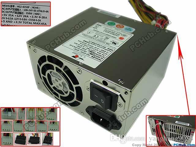 For EMACS HG2 6350P Server Power Supply 350W PSU Sever Computer 100 240V 7 35A 47 63Hz 12v 5a Buy From Yangliang9088