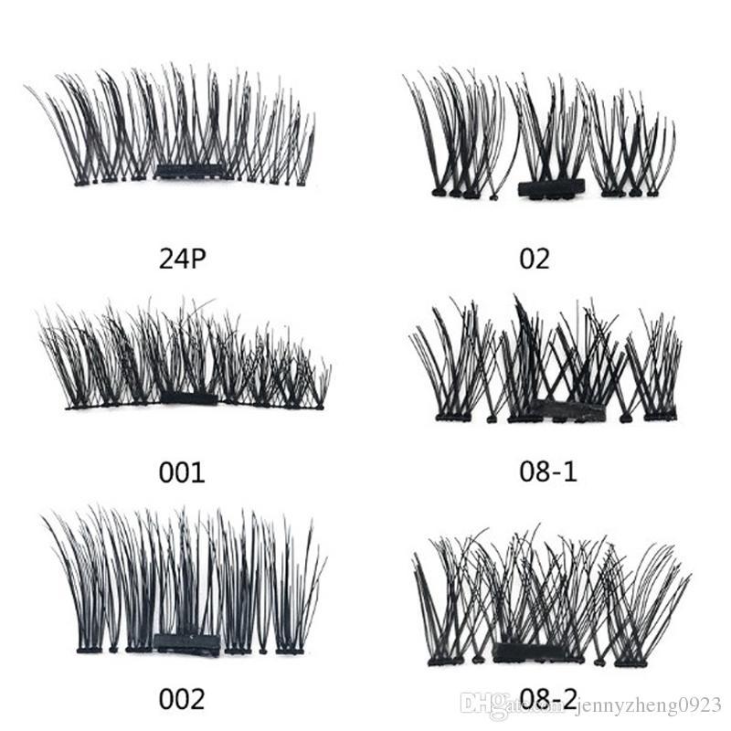 Easy to Wear False Eyelashes Magnetic Eye Lashes Makeup Kit Gift 3D Magnetic Eyelashes Magnet Magnetic Lashes