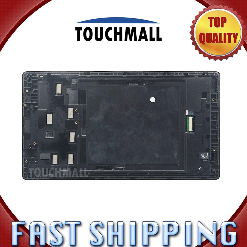 Wholesale For New Lcd Display Touch Screen With Frame Assembly Lenovo Tab2 A7 Replacement Tab 2 30 30dc 30hc 30tc 7 Inch Tablet