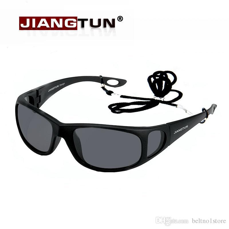 Jiangtun Hot Óculos Polarizados Polaroid Óculos Janela Lateral Projeto  Condução Oculos De Sol Masculino Óculos De Sol Anti Uv Pesca Sunglasses  Brands Best ... f1f3e28204