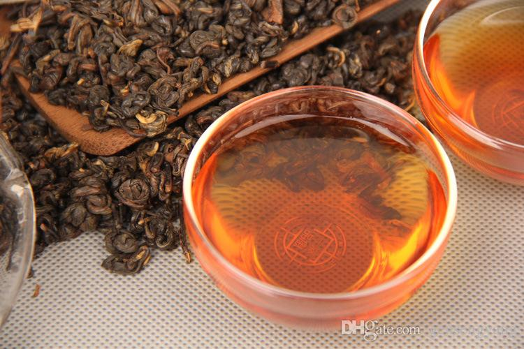 1000г Зрелый пуэр чай Юньнань мешок упаковки сыпучих черный пуэр чай Органический Pu'er старое дерево Приготовленный пуэр Натуральный пуэр Черный чай Пуэр