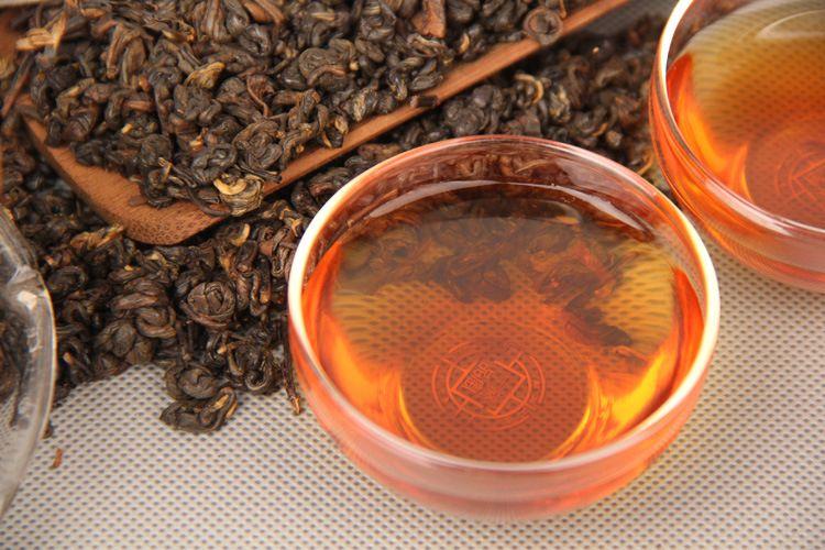 1000g Reif Puer Tee Yunnan-Beutel Verpackung losen Schwarz Puer Tee Bio Pu'er ältesten Baumes Gekochte Puer Natur Pu Erh Schwarzer Tee Puerh