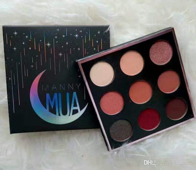 NEW Manny MUA x Makeup Geek Eyeshadow Palette LE BNIB eyeshadow Powder Manny Eyeshadow Kit MUA Eye Shadow Palette DHL free-2