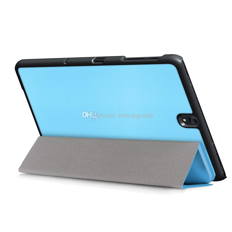 Luxury Folding Stand PU Cover Case For Samsung Galaxy Tab S3 9.7 T820/T825 Flip Cover with Wake UP/Sleep Fountion