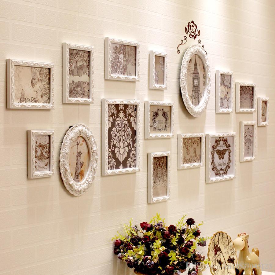 European Style Wooden Photo Frame Set,Photo Frames Photos,Collage ...