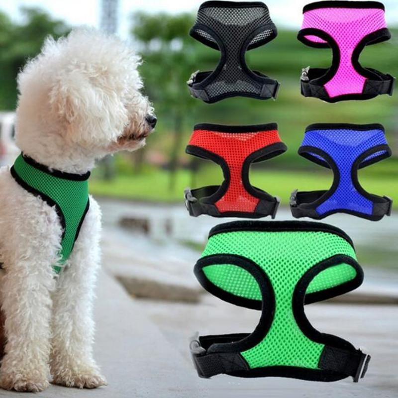 dog net vest collars pet dog nylon mesh harness dog net vest collars pet dog nylon mesh harness strap vest collar mm