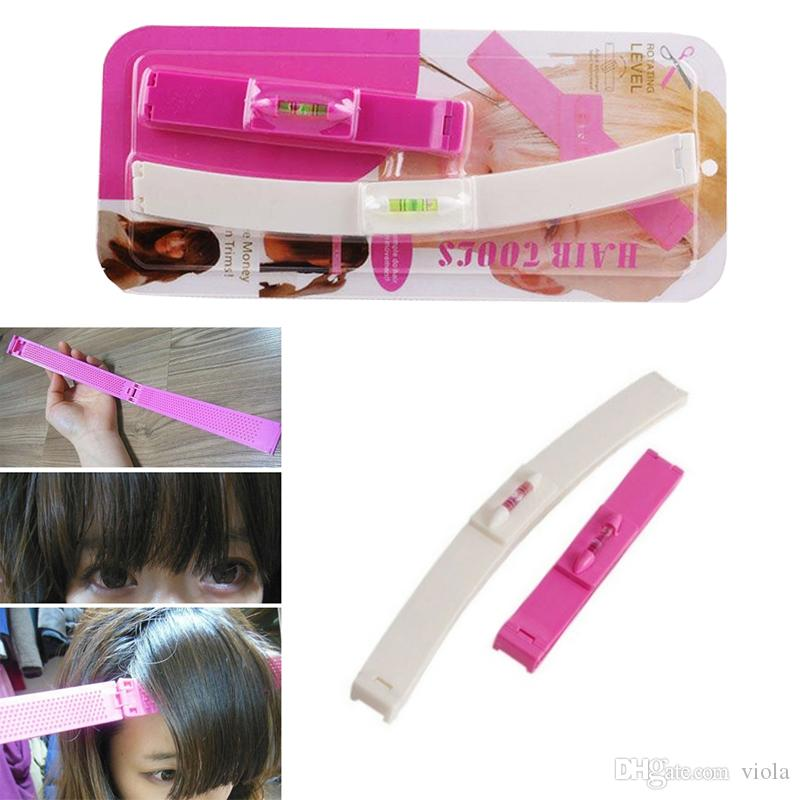 High Quality Hair Clip Professional Trimming Bangs Premium Haircutting Tools Pack Guide Layers Bangs Cut Kit Hair Clip