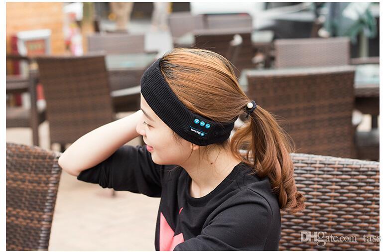 Bluetooth Musik Telefon Sport Schweißband Schweißband Für Radfahren Laufen Reiten Yoga Stirnband Stirnband Haarband VS Bluetooth Hut
