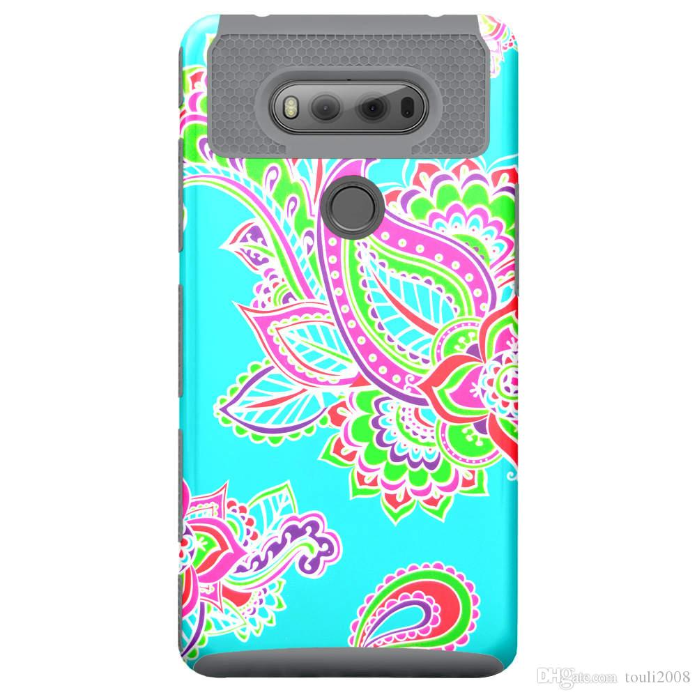 [Pattern Series] Slim with [Drop Protection] Heavy Duty Dual layer Case for LG Stylo 2 2016 / LG V20
