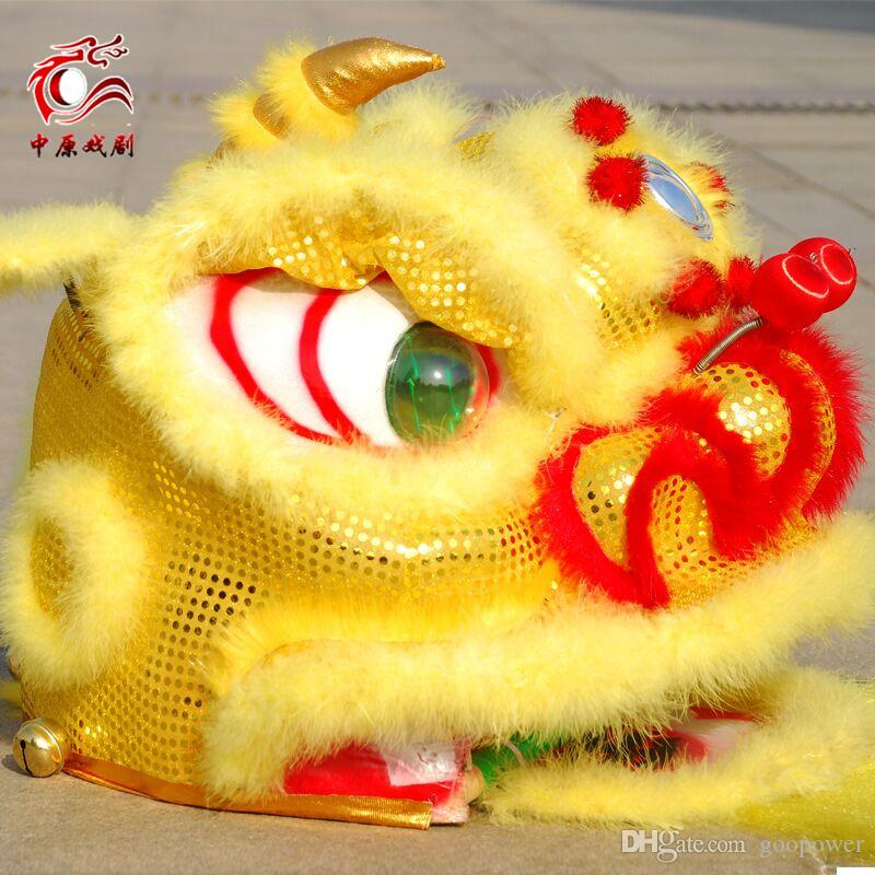 f62dbdcd8 OISK quality children new Lion Dance mascot Costume made of pure wool  Southern Lion Adult size ...
