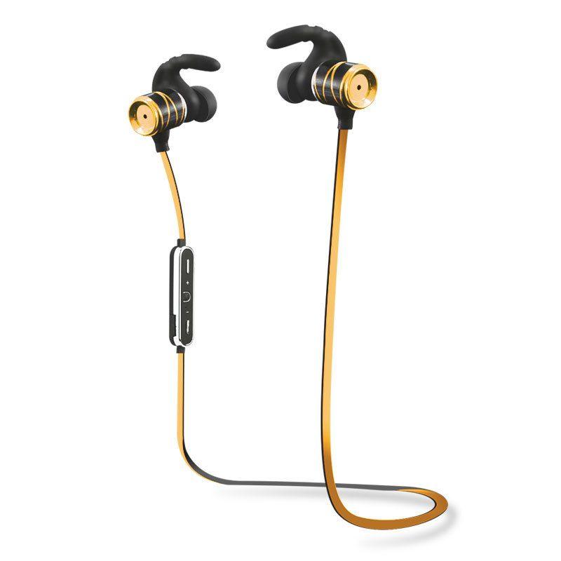 S3 Bluetooth Wireless 4.1 Sport Ohrhörer Metall Stereo-Rauschunterdrückung Sweatproof Headset mit Mikrofon für iPhone Samsung Smart Phones