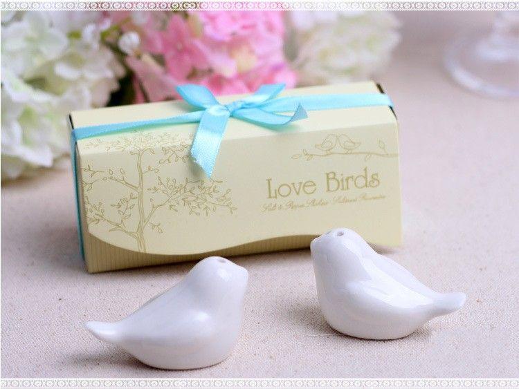 2yk Cerámica Creativa Amor Tarro de Aves Suministros de Cocina Cruet Herb Herramientas Blancas Botellas de Condimento Ollas Durables Para Regalos de Boda