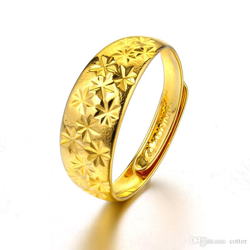wedding product girl plain cotter rings open engagement dhgate plated girls for ring adjustable end from com gold size