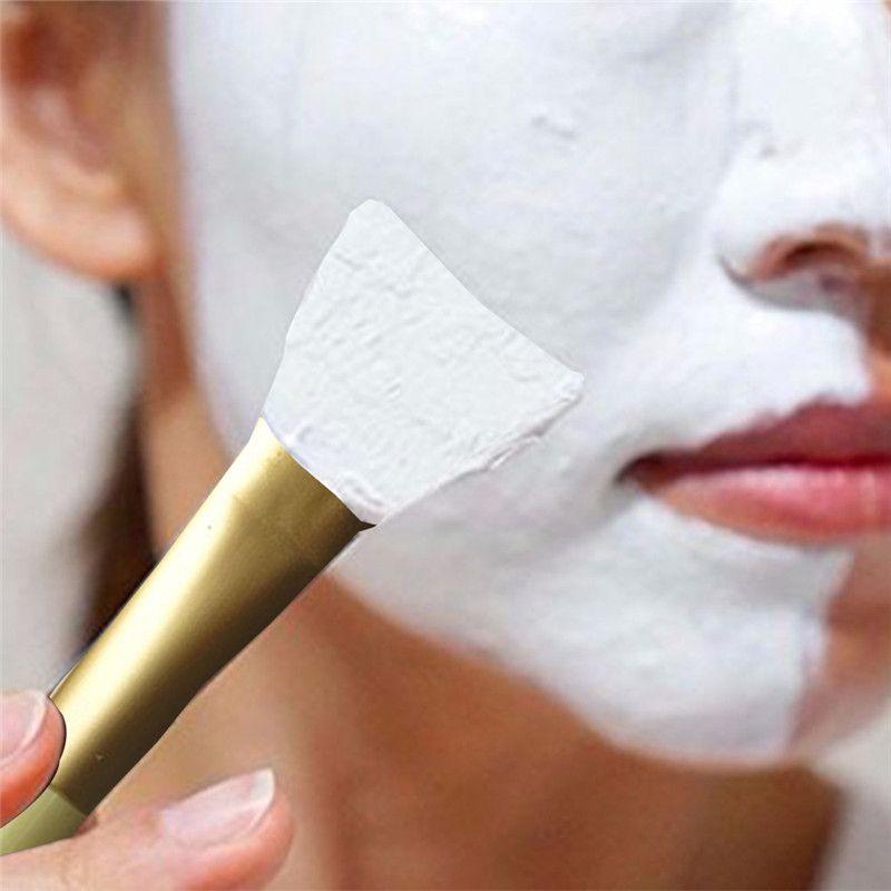 SM002 جديد وصول 1 قطعة المهنية سيليكون الوجه قناع الوجه الطين خلط الجلد العناية بالبشرة فرش أدوات 3 ألوان