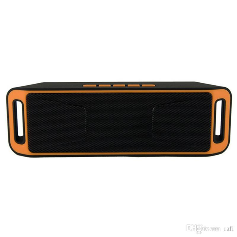 Hot Item SC-208 Mini Portable Bluetooth Speakers Wireless Smart Hands-free Speaker Big Power Subwoofer Support TF and USB FM Radio