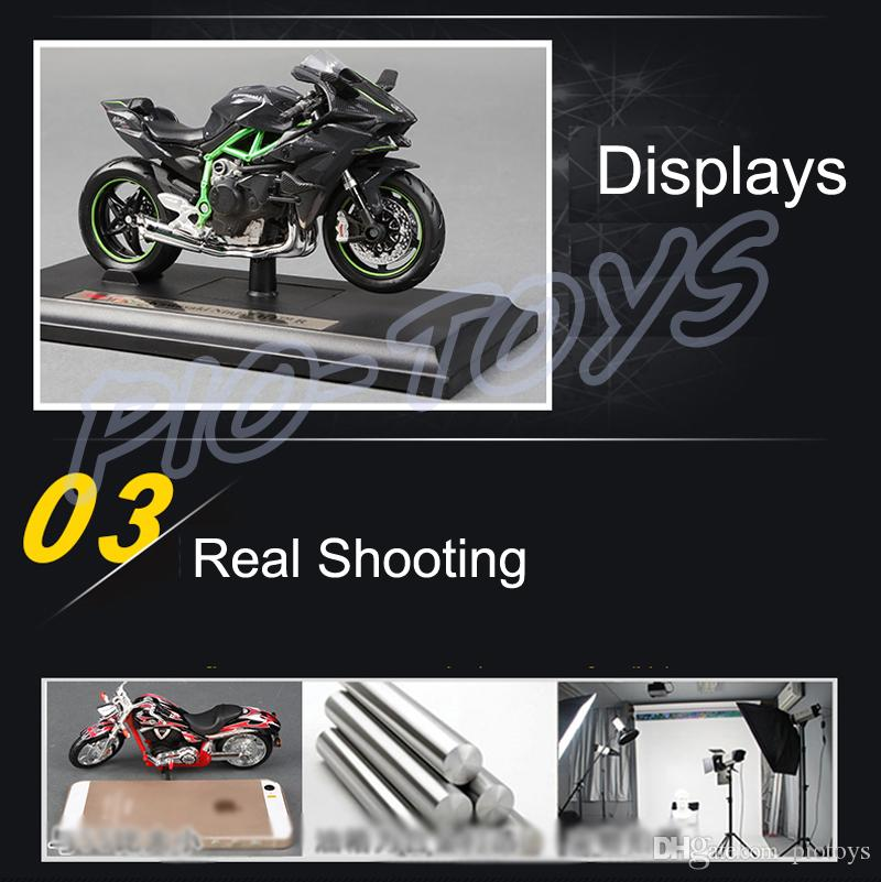 جديد وصول هدية H2R 1/18 نموذج سيارة جمع منزل الديكور سبيكة معدنية اللعب ثابت البسيطة دراجة صديق الحاضر
