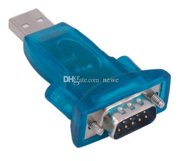 Computers Networking USB 2.0 to RS232 Serial Converter 9 Pin Adapter for Win7/8 Computer Cables Connectors