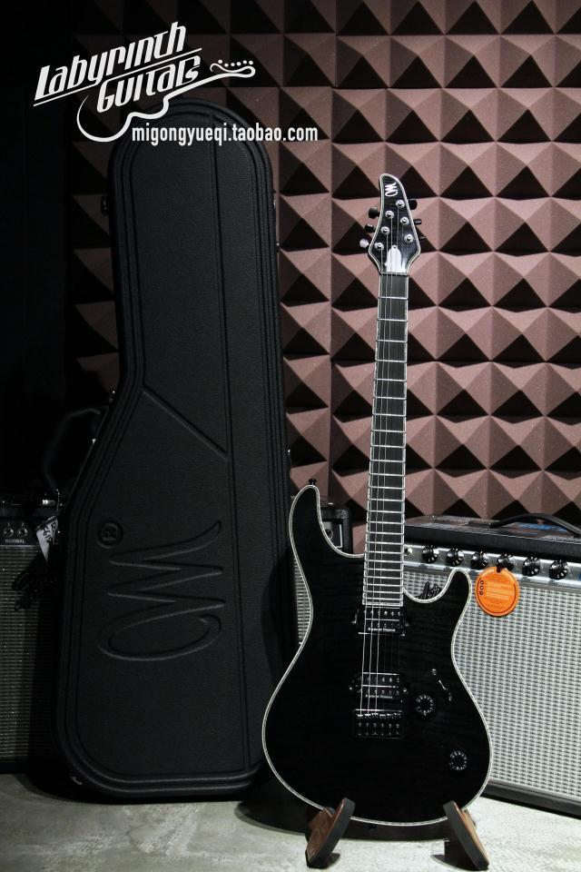 Großhandel Großhandel Mayones Regius 6 Mah Flamme E Gitarre Schwarz ...