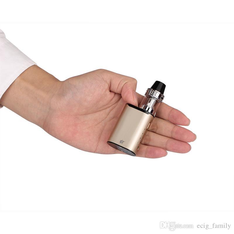 Hot selling tinner e cig start kit ECT C30 mini vape pen kit with 30W TC box mod 2ml met atomizer 1200mah battery