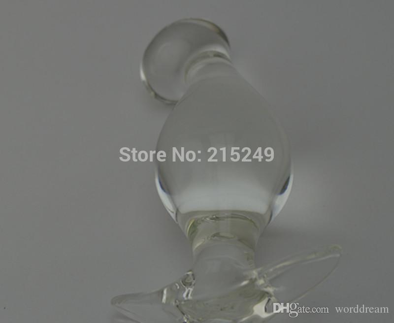 13 * 4,5 CM Große Glas Penis Dildos Anal Perlen Butt Plug Stimulator In Erwachsene Spiele, Fetisch Sexspielzeug Für Frauen Und Männer Homosexuell