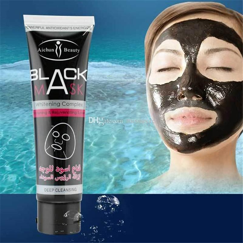 Aichun Deep Cleansing Black Mask Pore Cleaner 100ml Purifying Peel-off Mask Blackhead Facial Mask Free DHL Shipping