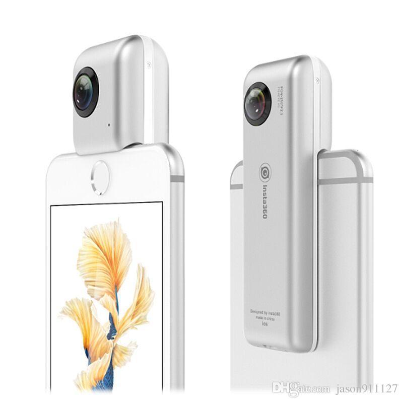 Camcorder Insta360 Nano 360 Degree Camera Attachment For Iphone 6 6plus 6s