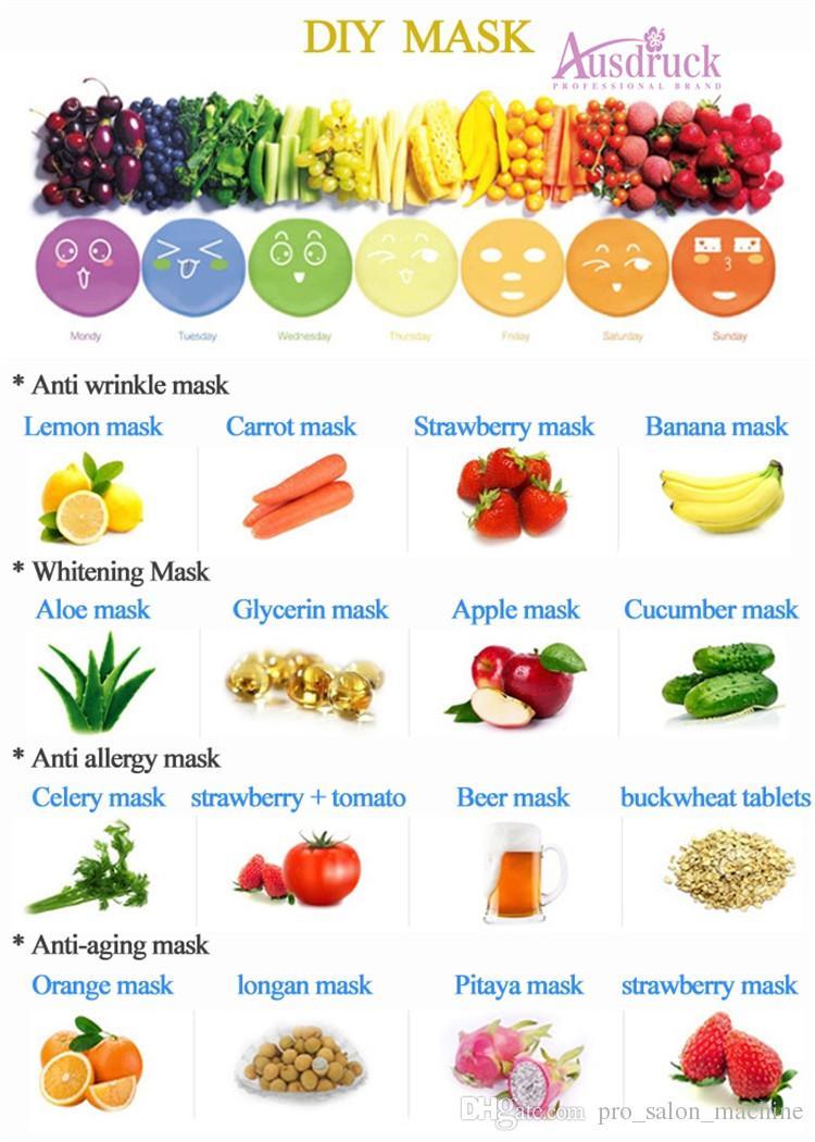 Alta qualità Nuovo arrivo DIY Frutta e verdura Maschera facciale Maker cura del viso Nutrizione portatile Mini macchina naturale