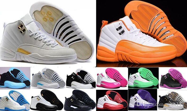 watch 9284c bc55f Großhandel Wholesale 12 12s Basketball Schuhe Mens Frauen Taxi Playoffs  Gamma Blau Grau Sportschuhe Real Günstige Turnschuhe 6 7 11 13 Von Wxh111,  ...