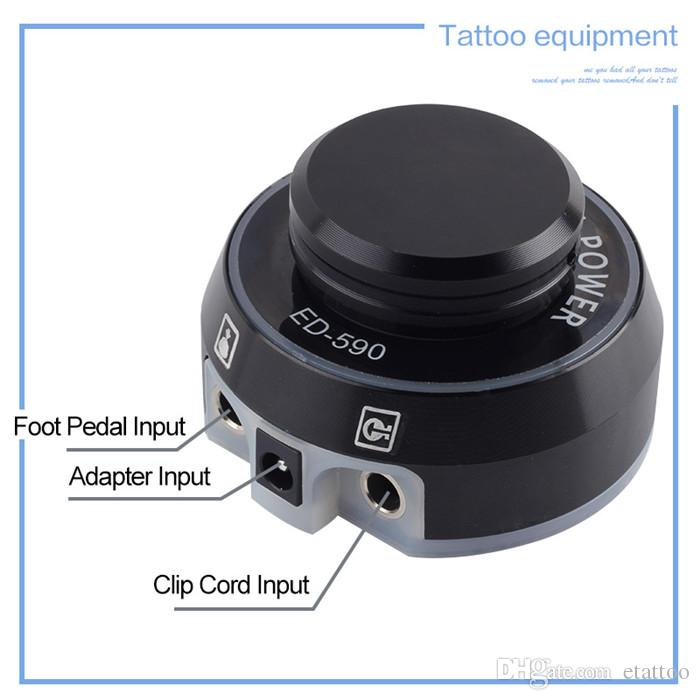 2017 New High Quality ED-590 Professional Tattoo Power Supply for Tattoo Machine Hot Sell