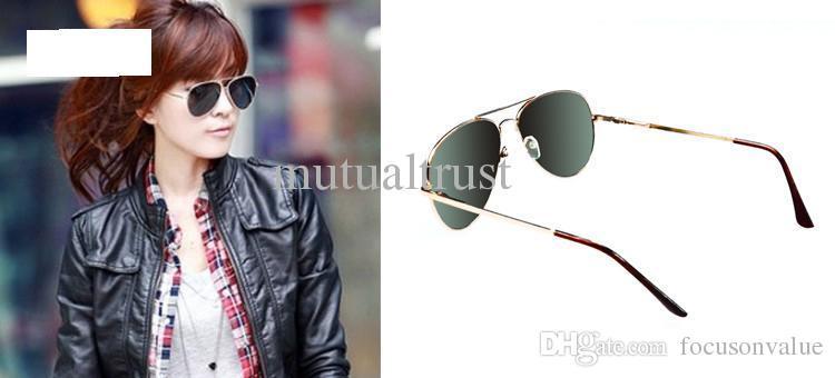 Rearview sunglasses Anti-Track Sunglasses UV Protection pilot sunglasses Anti UV Rear view Mirror Glasses in protection case