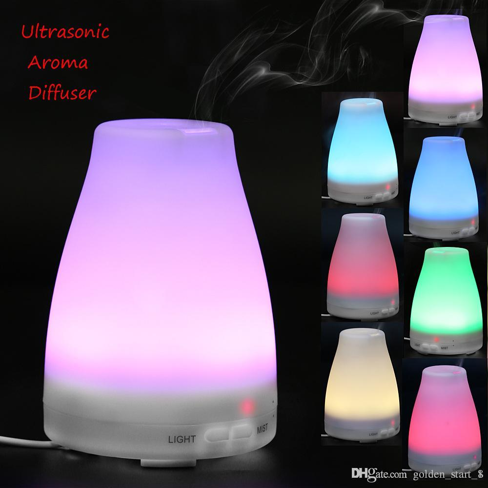 sports shoes af0b8 63827 2019 120ML LED Light Change Dry Protect Ultrasonic Essential Oil Aroma  Diffuser Air Humidifier Mist Maker For Home From Golden start 1,  25.68    DHgate.Com