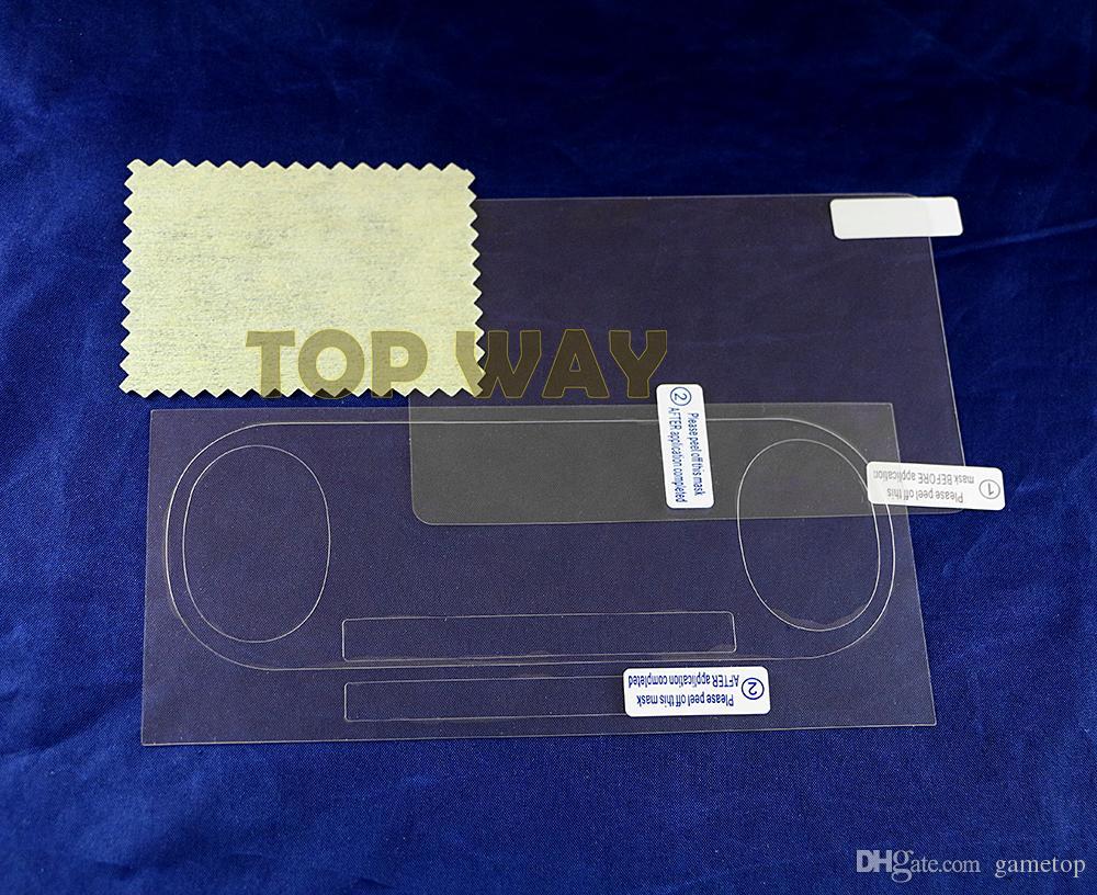 전면 후면 HD 지우기 보호 필름 표면 가드 커버 소니 psv2000 Psvita PS Vita PSV 2000 LCD 화면 보호기 와이퍼