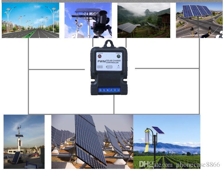 6 в 12 В 3A ЖК-ШИМ напряжения Солнечной заряда контроллер батареи панели солнечных батарей зарядное устройство регулятор завод Оптовая