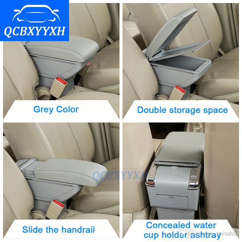 Okładka dla Chevrolet Cruze 2009-2014 Box Podłokietnik Central Store Content Box Holder Puchar Wnętrze Produkty do stylizacji samochodów Akcesoria