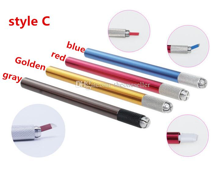 3D Handmade Manual Cosmetic Tattoo Eyebrow Pen Machine Permanent Makeup Eyebrow Microblading Tattoo Pen