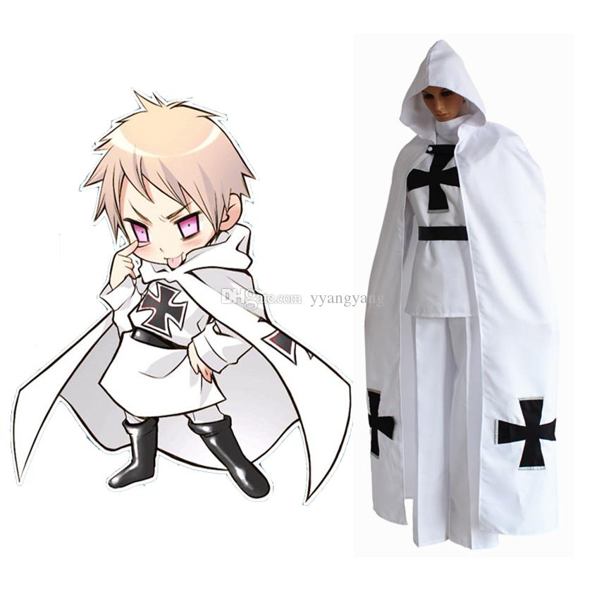 Anime Aph Axis Powers Hetalia Prussia Gilbert Beilschmidt Cosplay Costume  Halloween Uniform Party Army SuitTops+Pants+Cloak Anime Bunny Outfit Plus  Size ...