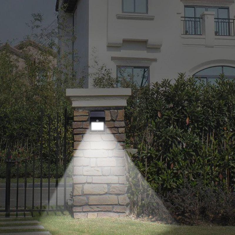 20LED Solar Lamp LED Outdoor Light PIR Motion Sensor Garden Lights Waterproof Courtyard Wall LED Lamp White Exterior Security Spotlight