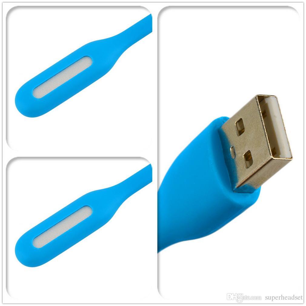 10 цветов подарок офисный стол USB светодиодные ночь свет мини лампа для ноутбука питания банк компьютер Портативный светодиодный светильник