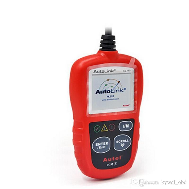 Autel Autolink AL319 OBD2 Code Reader Scanner For Ford GM Toyota BMW BENZ ECT