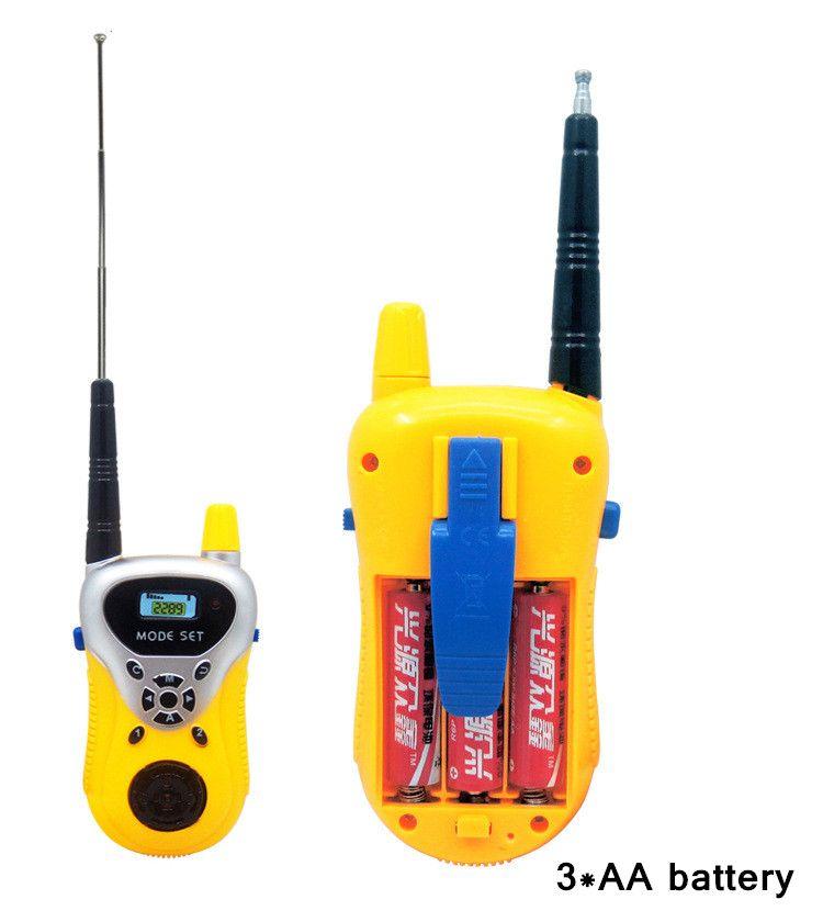 Remote smart walkie talkie wireless talkie paternity puzzle interactive children play house intercom toys Two-Way Radio